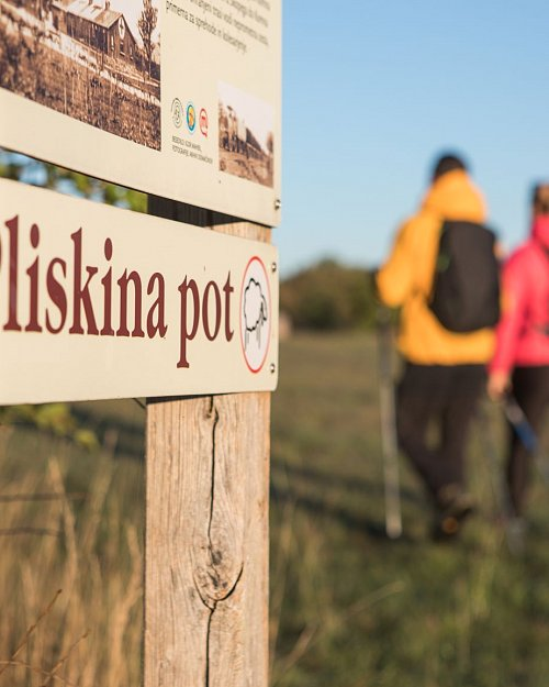 Easter hike along the Pliska trail