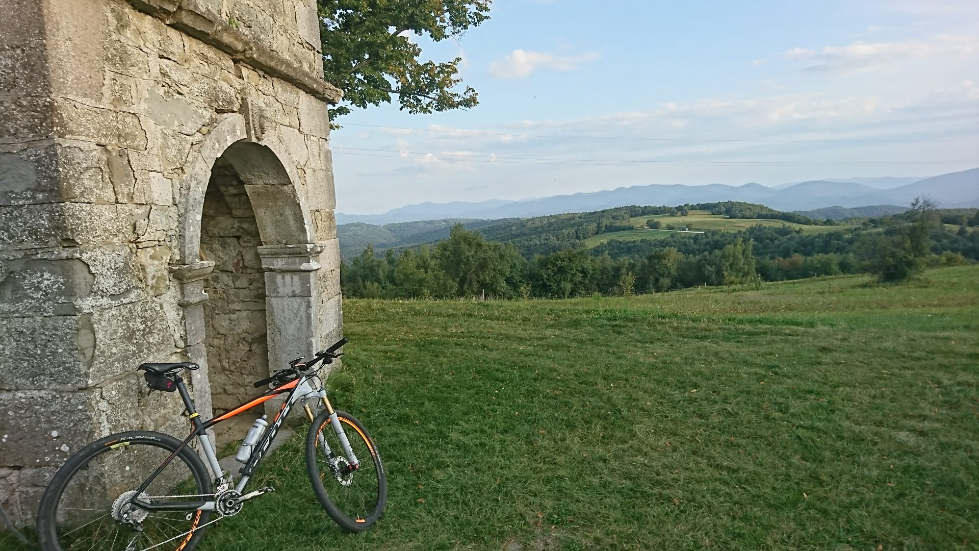 Week-end in bicicletta sul Carso