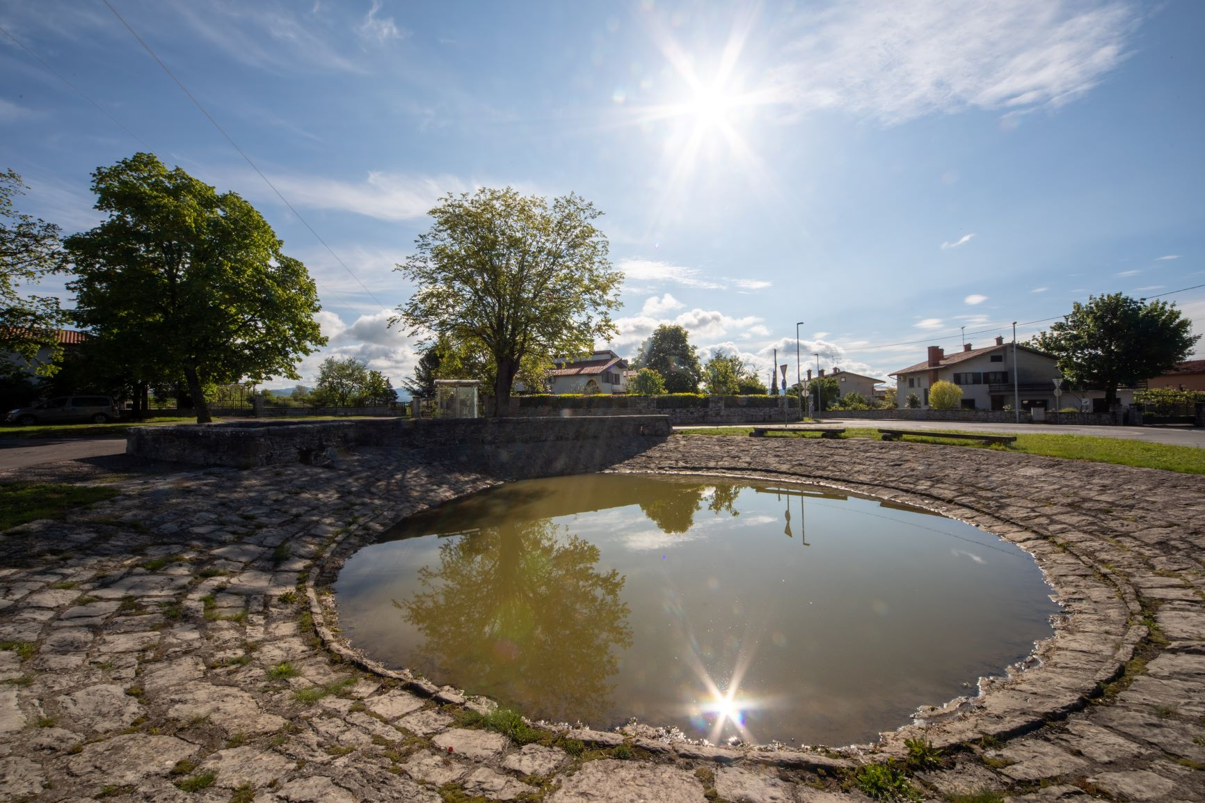 Water in the Karst: village ponds, drinking troughs, water holes and wells